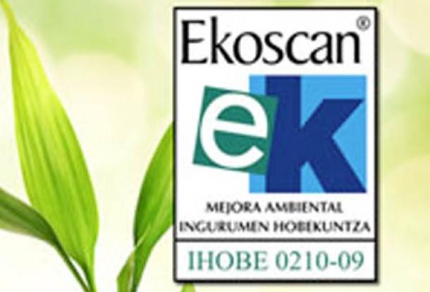 2011 urtean Ekoscan ziurtagiria berritu dugu