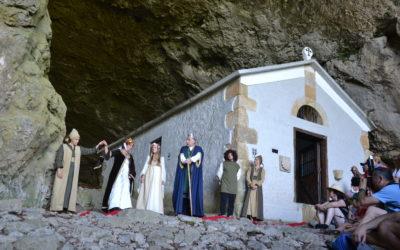 Leizarrate, representación teatral con música en vivo en Zegama
