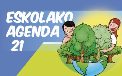 Eskolako Agenda 21 eta koronabirusa