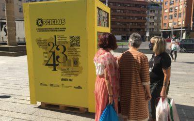 El pionero sistema de reciclaje RECICLOS instala cuatro puntos informativos en las calles de Calahorra