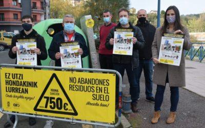 Nueva campaña medioambiental en Errenteria para fomentar la correcta recogida de residuos voluminosos