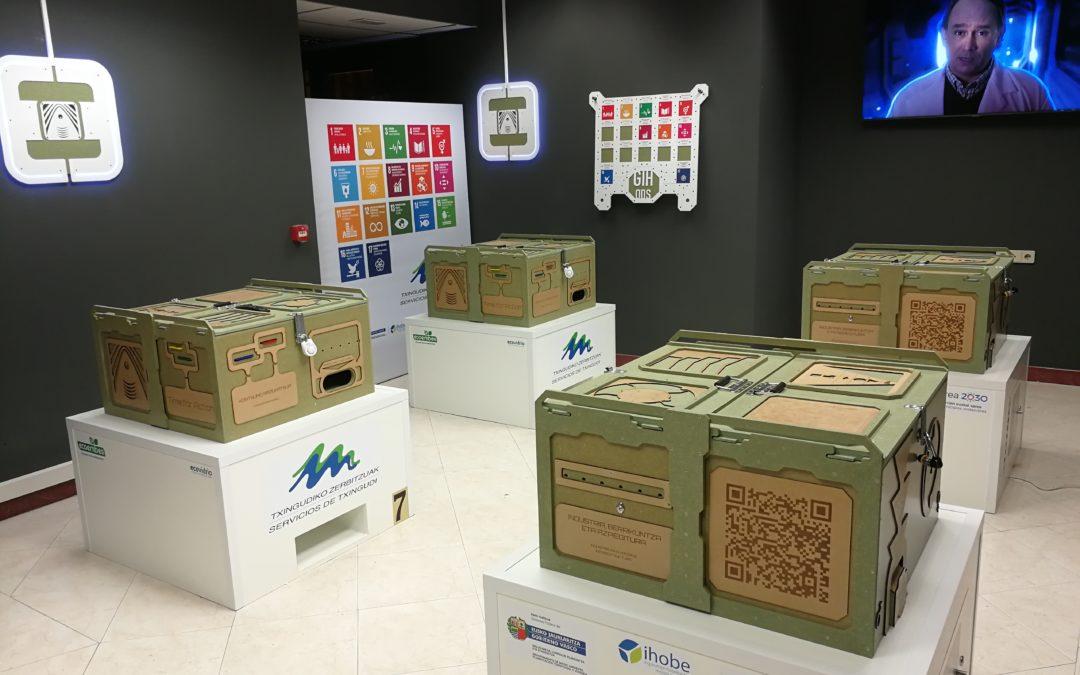 Un juego de ESCAPE sobre los Objetivos de Desarrollo Sostenible (ODS) en Txingudi