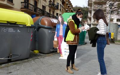 El Ayuntamiento de Tolosa lanza su campaña «Reciclemos más y mejor»
